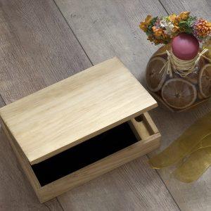Caja madera pino miel dlux