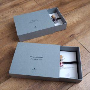 Caja de cartón duro más PRINTS
